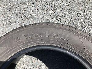 Set of 4 all season tires, 225/55/R17