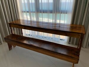 French Narrow Long Dinning Table