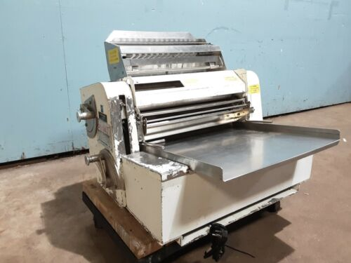 """""""ANETS MDR-6-C"""" HD COMMERCIAL (NSF) DOUBLE PASS THROUGH CONTER TOP DOUGH SHEETER"""