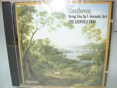 Hyperion Trio - Beethoven SERENADE; STRING TRIO, The Leopold Trio, 1999, Hyperion NEW