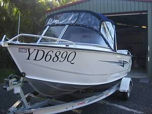 4.49 Stacer Baymaster 2015 Burpengary Caboolture Area Preview