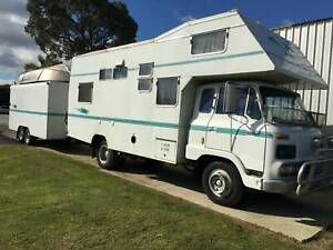1976 MAZDA E-4100 MOTOR HOME WITH CAR TRAILER AND A BOAT!! East Rockingham Rockingham Area Preview