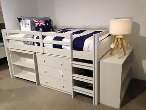 Carlo King Single Loft Bed Townsville Townsville City Preview