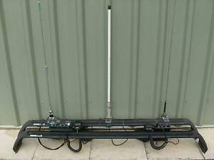 Rhino Rack Crossbars SG08 - Pair - 3 Aerials fitted & incl radios Ramornie Clarence Valley Preview