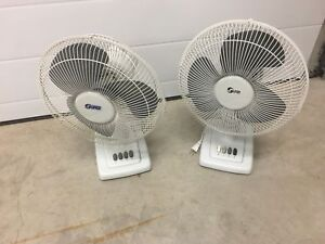 For Sale: 2 Small Household Fans