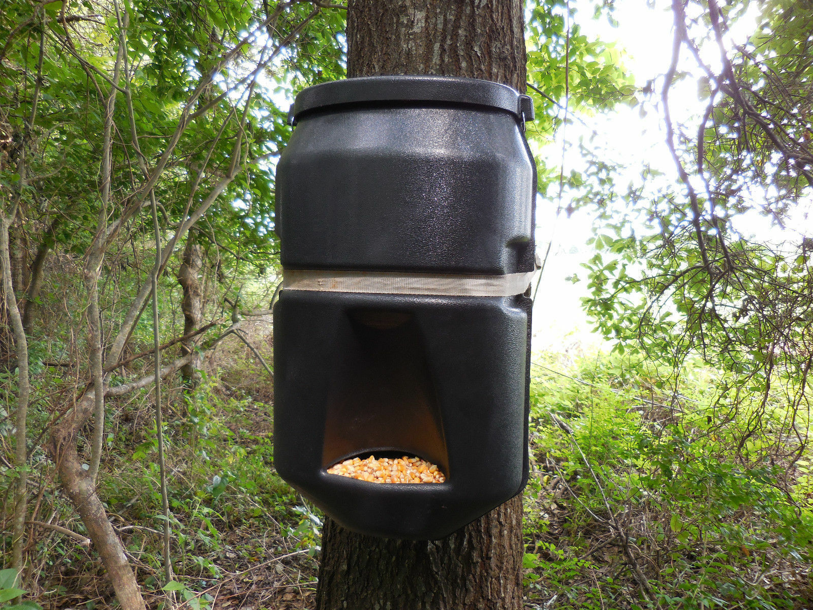How to make a gravity deer feeder ebay for How to build a deer feeder out of pvc pipe