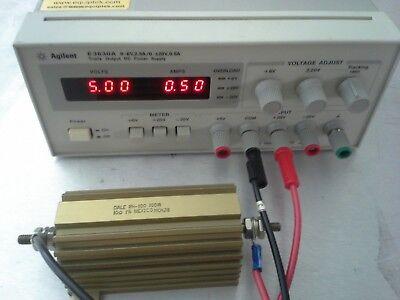 Agilent E3630a Triple Output Lab Power Supply 0-6v 2.5a And -20v 0.5a