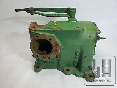 Genuine Used John Deere 60 Tractor Governor Housing With Gears Pictured A4473r