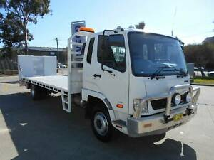 ** 2013 FUSO FIGHTER 1427 BEAVERTAIL WITH HYDRAULIC RAMP ** Arndell Park Blacktown Area Preview