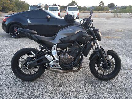 Wanted: Yamaha Mt 07