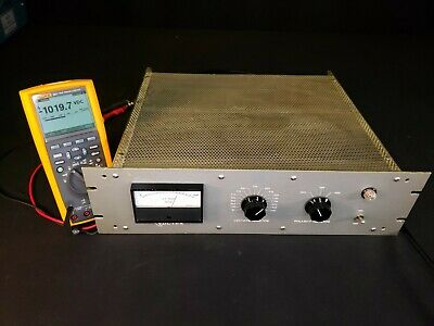 Voltex 1.4kv Dual Polarity Adjustable High Voltage Power Supply - Tested