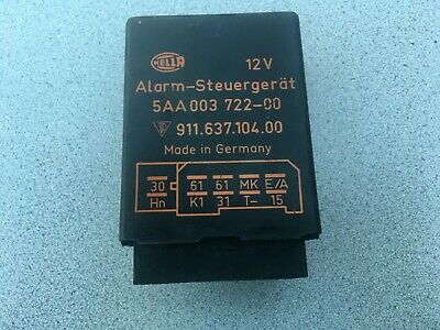 Porsche 911/924/944 Alarm Relay Control Module   HELLA  911 637 104 00     C#R1
