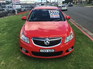 2013 HOLDEN CRUZE EQUIPE SEDAN. only 103,402 klms Leumeah Campbelltown Area Preview