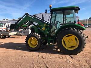 John Deere 5093E Cab Tractor Heatherbrae Port Stephens Area Preview