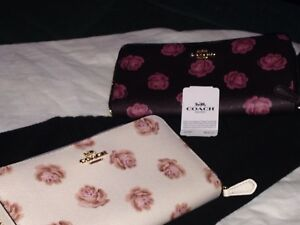 2 brand new coach woman's wallets