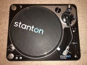 2x Stanton T.92 USB direct drive turntables Stepney Norwood Area Preview