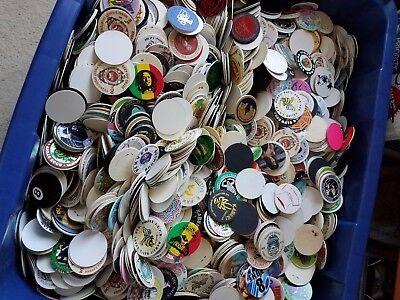 Lot Of 100 Unused Vintage Pogs From Hawaii