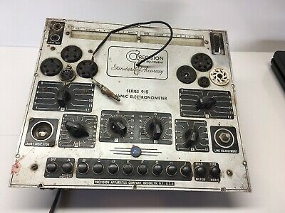 Vintage Precision Apparatus Series 915 Dynamic Electronometer Tube Tester Parts