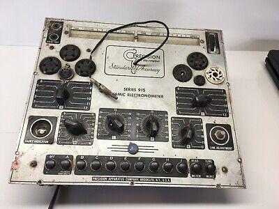 Vintage Precision Apparatus Series 915 Dynamic Electronometer Tube Tester Parts