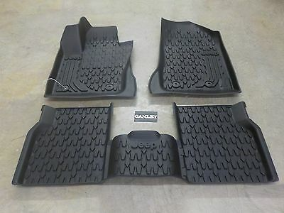 2017 Jeep Compass All Weather Slush Mats First and Second Row
