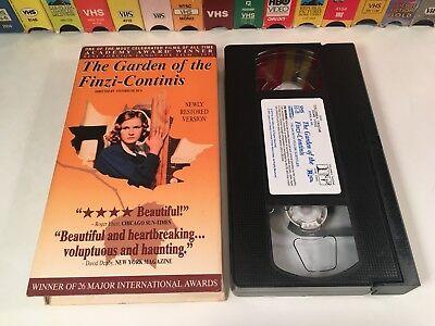 The Garden Of The Finzi-Continis Drama VHS 1970 Restored Subtitled De Sica