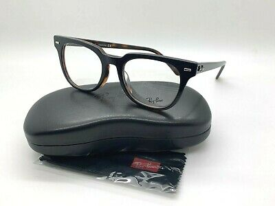 Ray-Ban ORX5377F 5909 BLACK/TORTOISE  Eyeglasses Frames (Ray Ban Prescription Lenses)