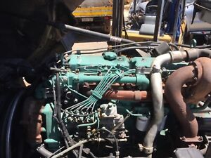 Volvo T D6 1F engine 6 cylinder  complete. Ref VTD6engwa Kenwick Gosnells Area Preview