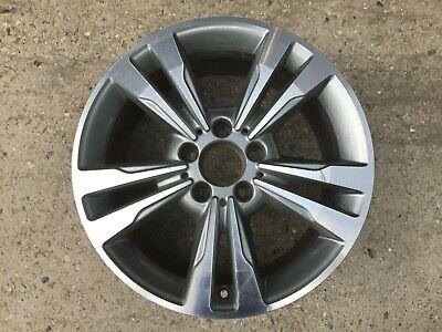 "1 x Mercedes Benz E Class W212 17"" Twin 5 Spoke DT GREY GENUINE OEM Alloy Wheel"