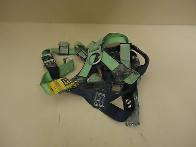 Dbi Sala Safety Harness Greenblue Vest Style Polyester Metal