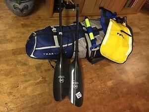 Trax Kayak Folding