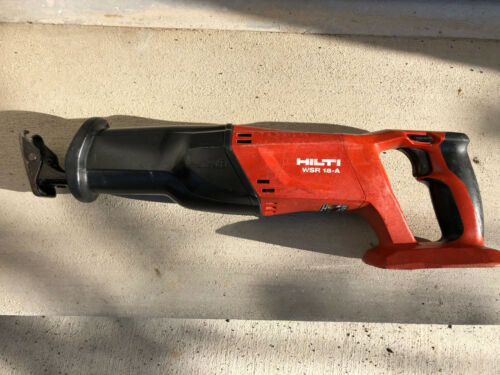 Hilti Reciprocating Saw 18V WSR18-A (Sawzall) - really great condition