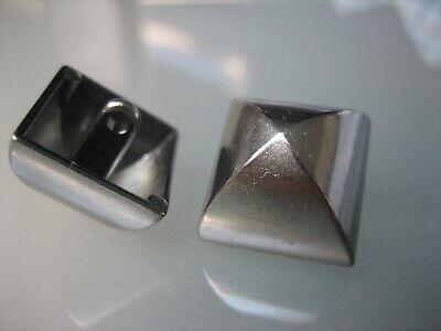 5x interessante Metall-Knöpfe - altsilber, dunkelgrau - 18mm - Larp, - Interessante Kostüm