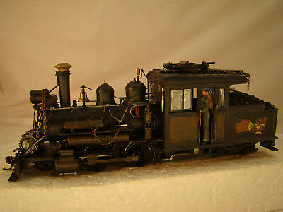 On30 Forney Logging Steam Engine    - sound, DCC    - custom weathered - lot 5 for sale  Shipping to Canada