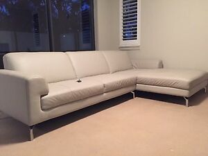 Genuine leather chaise lounge Pyrmont Inner Sydney Preview