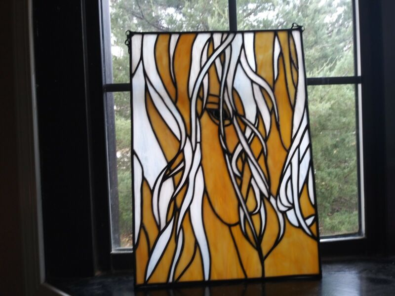 Stained Glass Window of Horse