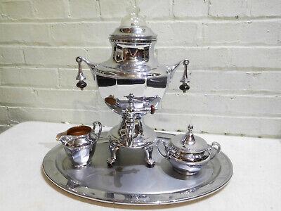 Vintage Manning Bowman (Means Best) Coffee Maker Sugar Creamer