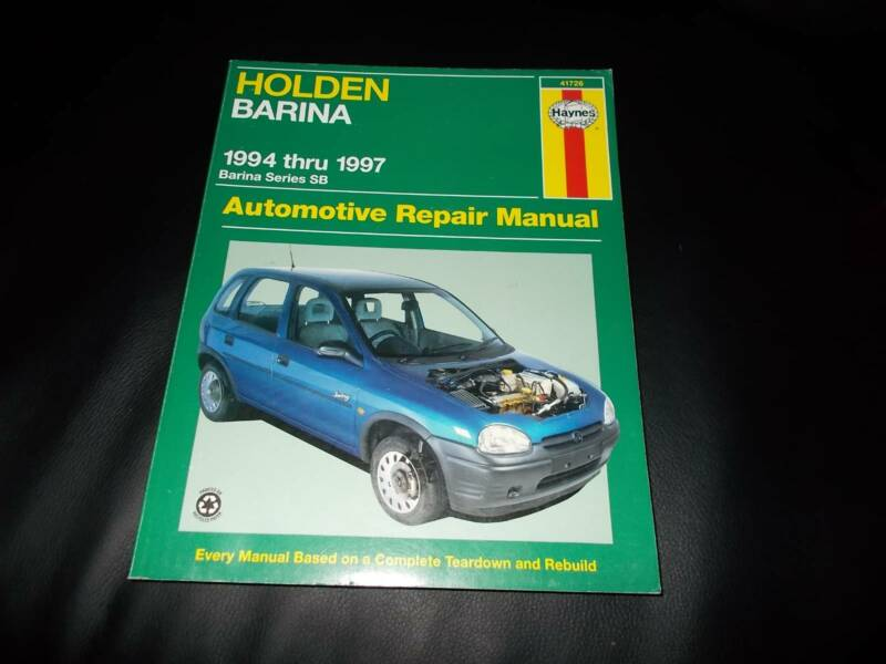 holden barina workshop manual other parts accessories gumtree rh gumtree com au 2012 holden barina service manual 2006 barina service manual
