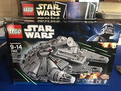 NEW - Lego Star Wars 7965 Millennium Falcon - Authentic Factory Sealed Brand NEW