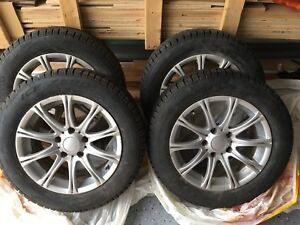 Mag + tire Pirelli winter ice (16) used 2 months  pneu + gantes