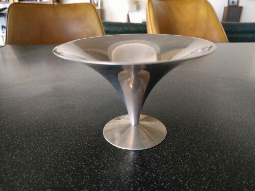 MID CENTURY MODERN ARTHUR SALM STAINLESS STEEL BOWL MARTINI GLASS MODERNIST CUP