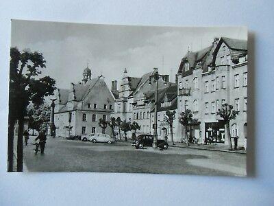 Ansichtskarte Doberlug Kirchhain Rathaus am Markt  (Nr.651)