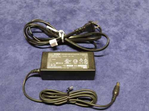 EPSON 781416-001 SCANNER POWER SUPPLY / AC ADAPTER 24V 1.3A