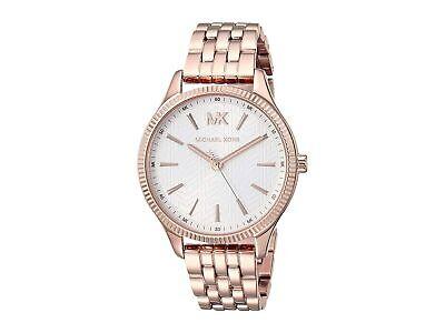 Michael Kors Women's Lexington MK6641 36mm Rose Gold Dial Stainless Steel Watch