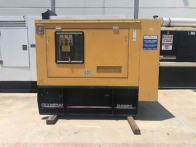 Olympian D40p1 Diesel Generator Set - 40 Kw Standby - 120208v - 1800 Rpm