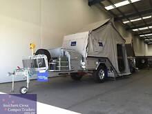 SOUTHERN CROSS SILVER PEARL DEMO Rear Folding Camper Trailer Yangebup Cockburn Area Preview