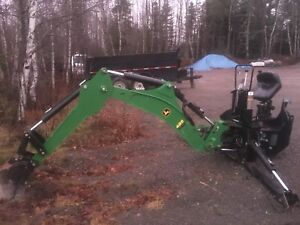 John Deere 485 backhoe 4 point attachment