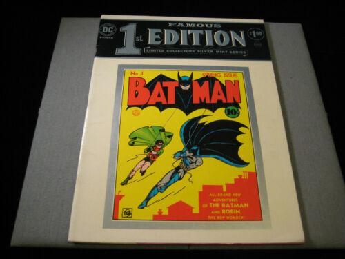 Famous 1st Edition (DC, 1974) Batman 1 Batman Treasury