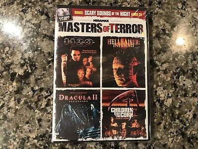 Halloween H2O/HellRaiser Inferno/Children Of The Corn/Dracula New Sealed -