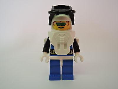 Lego Mini Figur Aquanaut Taucher aqu002  Set 1728 1822 6145 6195