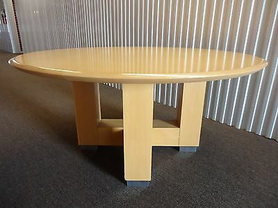 Steelcase Convene 60 Round Conference Table Or Desk Table With X-panel Base